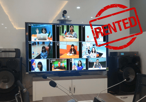 Video Conferencing Equipment For Rent