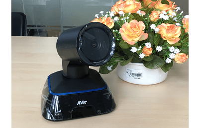 The AVer EVC130 has a wide angle camera up to 88 degrees