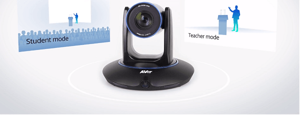 AVer PTC500 is designed with dual camera technology