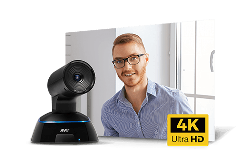The AVer VC322 is designed with 4K (Ultra High Definition) technology