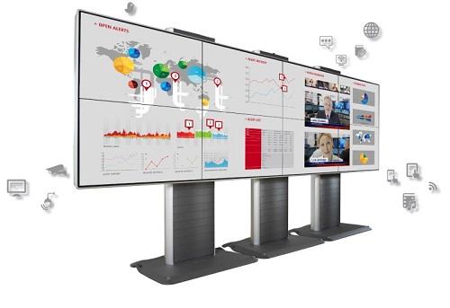 Màn hình ghép video wall Barco