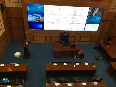 Video conferencing system for Hai Phong Navy 1