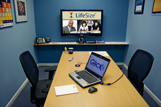 Videoconference with Lifesize Room 220