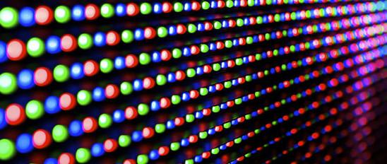 Mật độ điểm ảnh của màn hình ghép LED