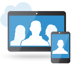 video conferencing system on mobile device