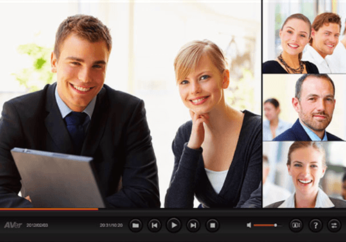 VCPlayer - AVer videoconferencing video playback software