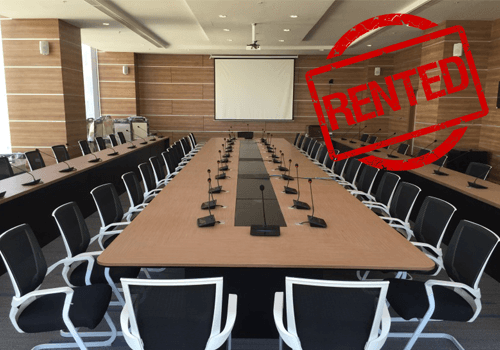 Meeting room rental service online