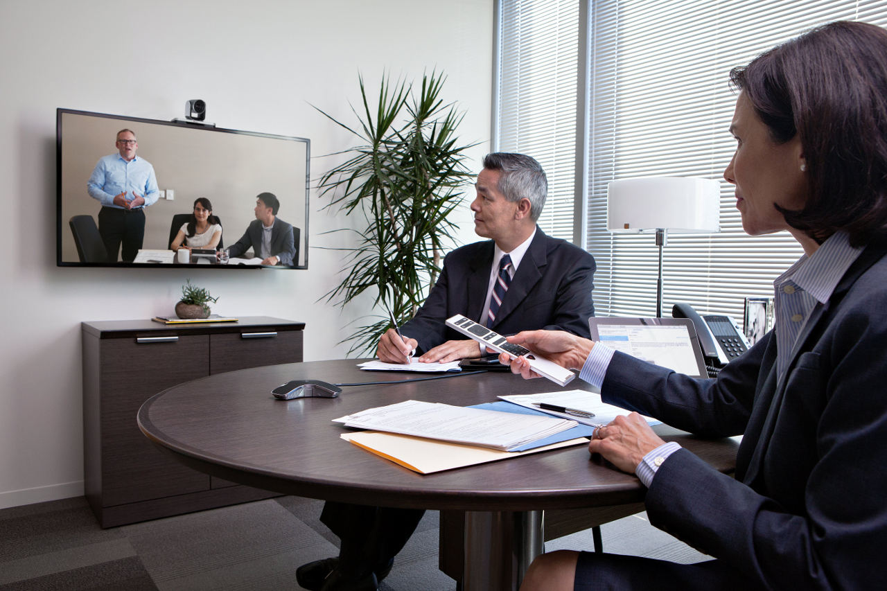 Polycom Group 310 for Full HD 1080p video resolution