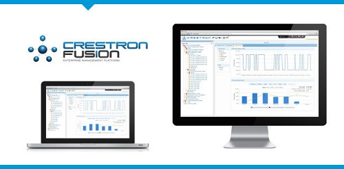 Crestron Fusion meeting scheduling application